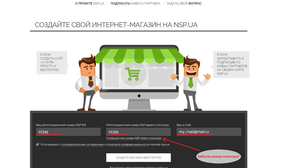 46ddf42b369f Как зарегистрировать адрес своего интернет-магазина на NSP.UA ...